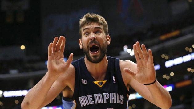 Basketbalista Marc Gasol z Memphisu.
