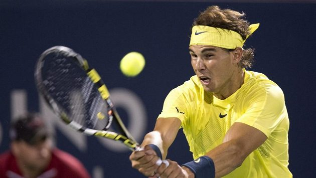 Rafael Nadal na turnaji v Montrealu.