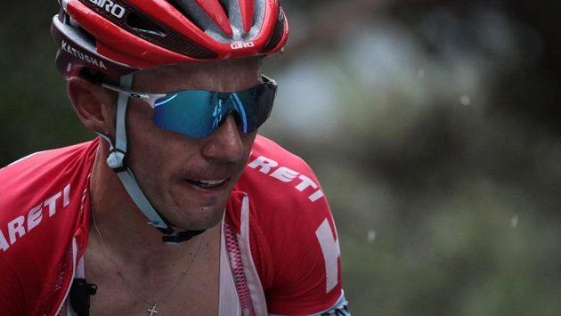 Španělský cyklista Joaquim Rodríguez na letošní Tour de France.