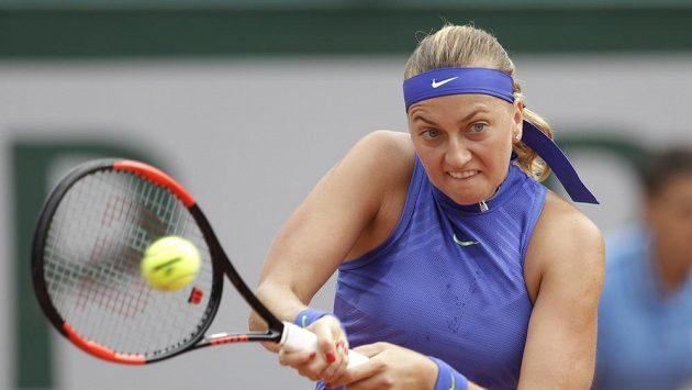 Petra Kvitová na French Open.