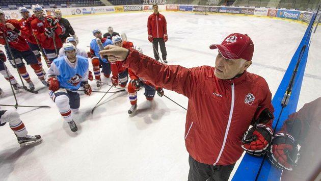 Hokejisty extraligových Pardubic už na dnešním tréninku vedl nový trenér Peter Draisaitl.