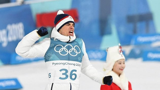Michal Krčmář vybojoval stříbrnou olympijskou medaili ve sprintu v Jižní Koreji.