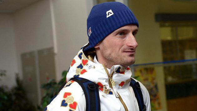 Skokan na lyžích Jakub Janda na archivním snímku před odletem do Soči na Zimní olympijské hry 2014