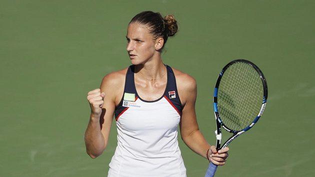 Karolína Plíšková zůstává světovou jedničkou i po turnaji v Cincinnati, kde skončila v semifinále a nenavázala tak na loňský triumf.