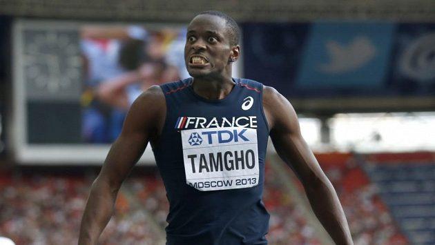 Mistr světa v trojskoku Teddy Tamgho.