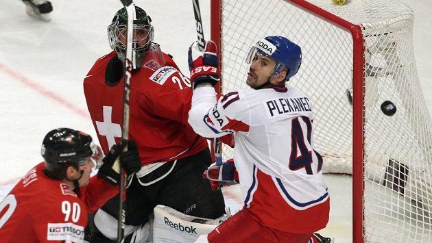 Jak si podle vás vedli čeští hokejisté v souboji se Švýcarskem?