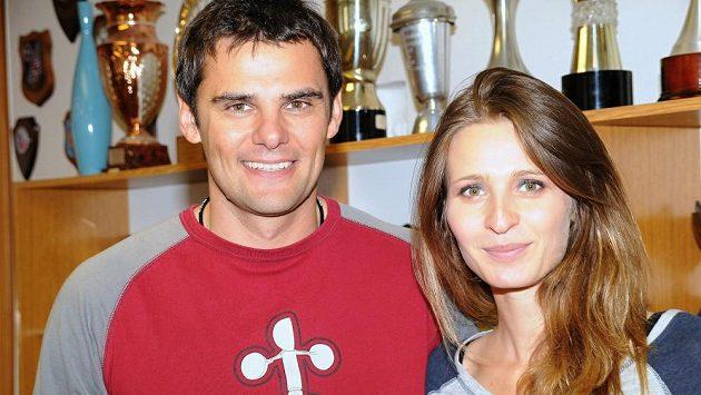 David Kostelecký s manželkou Lenkou.