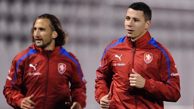 Marek Suchý (vpravo) se stane kmenovým hráčem Basileje.