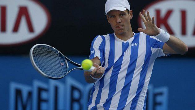 Berdych suverénně přejel Andersona a postoupil do čtvrtfinále Australian Open.