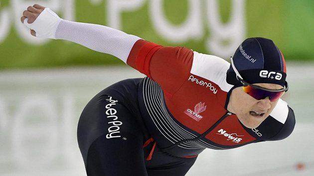 Karolína Erbanová se stala mistryní Evropy ve sprintu.