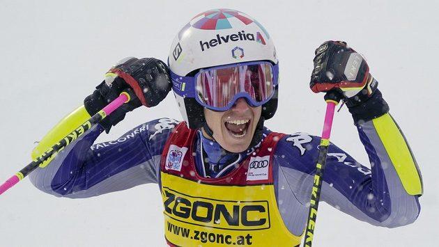 Italská lyžařka Marta Bassinová