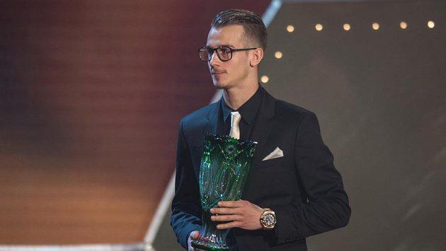 Fotbalista Ajaxu Václav Černý.