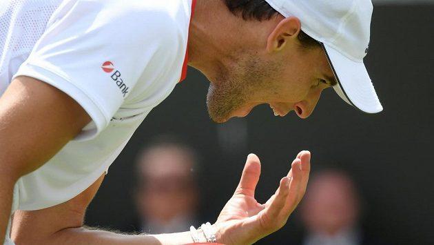 Rakouský tenista Dominic Thiem se na Wimbledonu kvůli zranění nepředstaví.