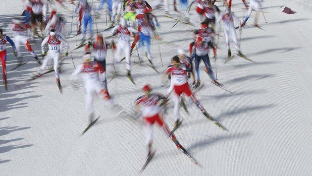 Běh na lyžích, ilustrační snímek.