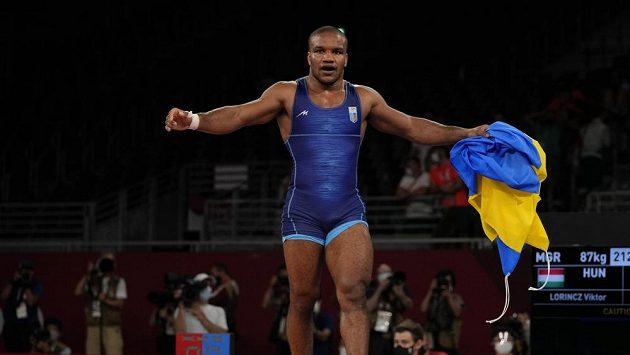 Ukrajinský zápasník Žan Beleňjuk