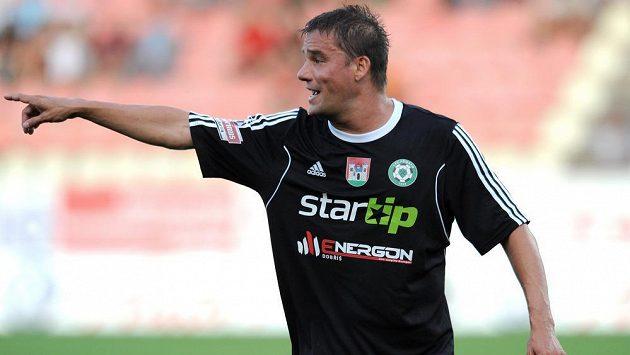 V dresu Příbrami už Petr Švancara nenastupuje, ve třetí lize je mu ale dobře.