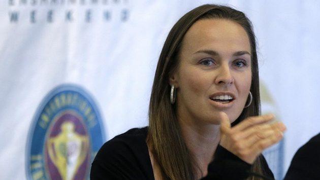 Švýcarka Martina Hingisová byla uvedena do tenisové Síně slávy.