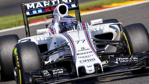 Pilot Williamsu Valtteri Bottas.