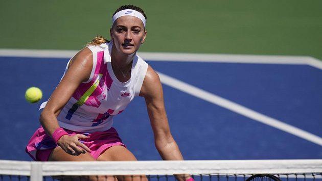 Petra Kvitová v prvním kole US Open nezaváhala.