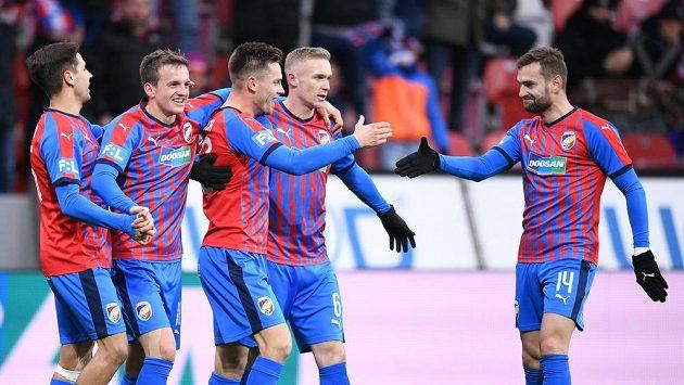 Plzeňská fotbalová radost.