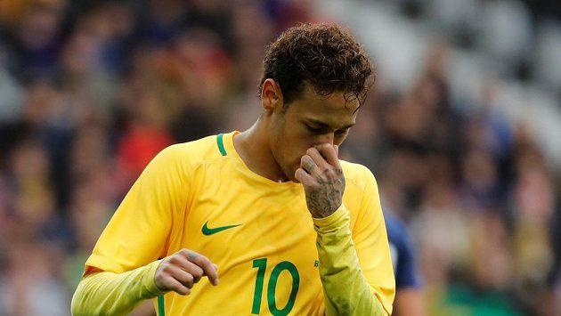 Brazilec Neymar neproměnil penaltu.