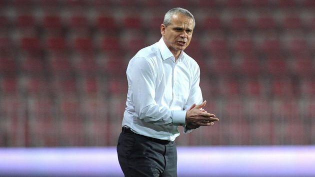 Trenér Sparty Vítězslav Lavička měl remízou s Jihlavou pokaženou úterní oslavu padesátin.