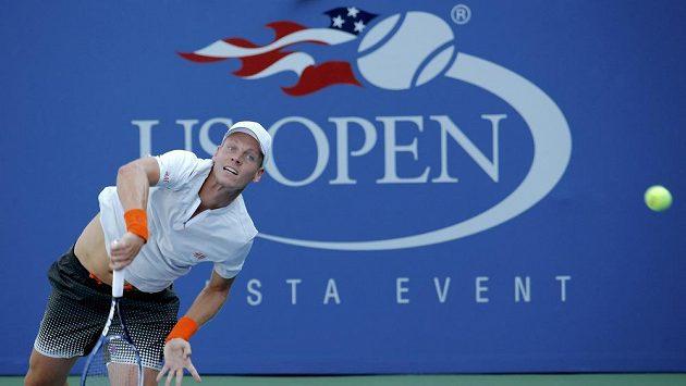 Český tenista Tomáš Berdych na US Open
