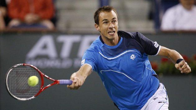 Lukáš Rosol na Lleytona Hewitta v Indian Wells nestačil.
