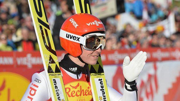 Němec Eric Frenzel (na snímku) vyhrál sobotní závod Světového poháru sdruženářů v Seefeldu.