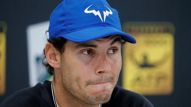 Rafael Nadal v Paříži.