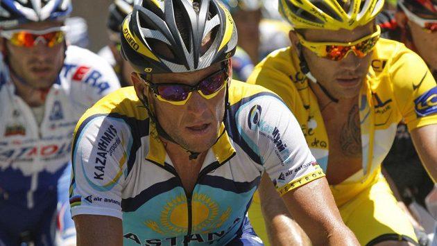 Cyklista Lance Armstrong na archivním snímku.
