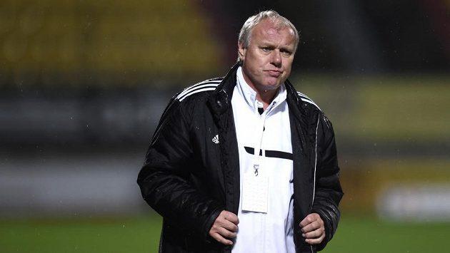 Trenér Příbrami Pavel Tobiáš.