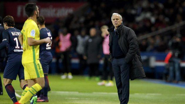 Nyní už bývalý trenér francouzského Nantes René Girard.
