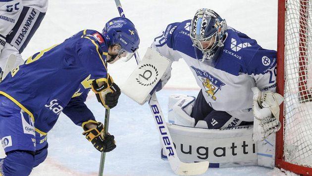 V závěrečném utkání Švédských her v Malmö zvítězili domácí hokejisté v severském derby nad Finskem 3:0 a skončili druzí o dva body za Ruskem.