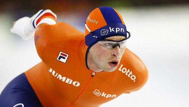 Nizozemský rychlobruslař Sven Kramer.