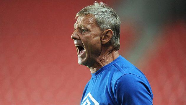 Teplický trenér Zdeněk Ščasný je po prohře ve Varnsdorfu na své svěřence hodně rozzlobený.