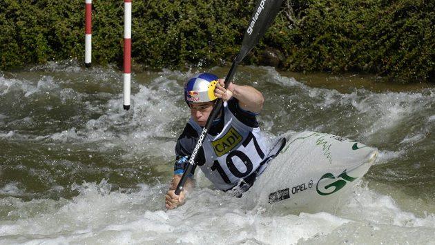 Vavřinec Hradilek si jede pro triumf ve španělském Seu.