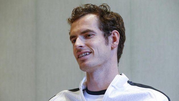 Britský tenista Andy Murray po triumfu v Davis Cupu.