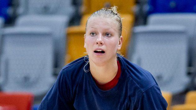 Česká basketbalová reprezentantka Kateřina Hindráková se nevešla do konečné nominace na MS v Turecku.