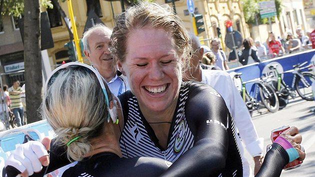 Nizozemská cyklistka Eleonora van Dijková.