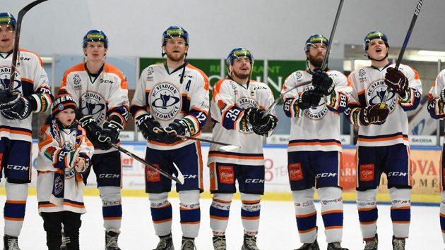 Hokejisté Litoměřic na archivním snímku