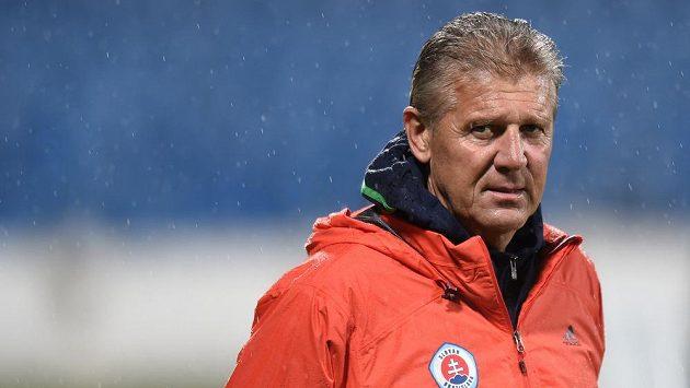 Bývalý trenér Slovanu Bratislava Jozef Chovanec.