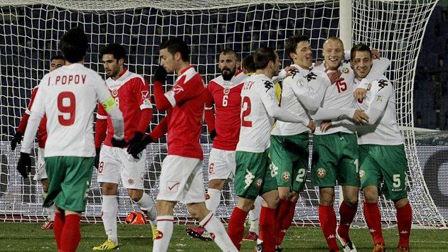 Fotbalisté Bulharska dali Maltě šestibrankový příděl.