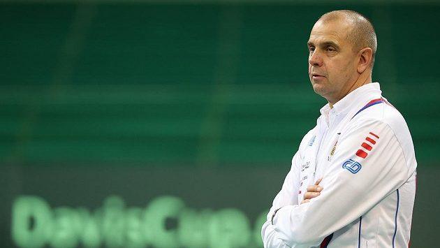 Vladimír Šafařík povede české tenisty ve finále Davisova poháru.