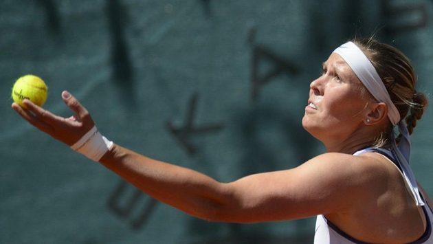 Lucie Hradecká na titul nedosáhla ani ve Štrasburku.