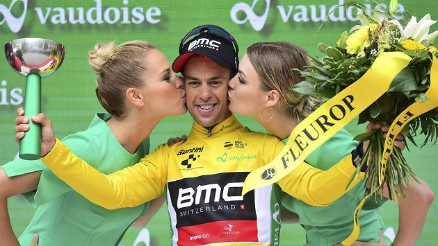 Australský cyklista Richie Porte se po páté etapě Kolem Švýcarska stal lídrem závodu.