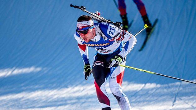Michal Krčmář se při SP v Oberhofu neobjeví