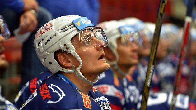 Tomáš Vondráček ještě v dresu Komety.