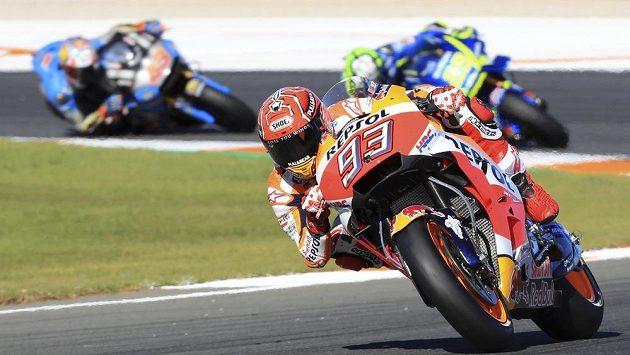 Marc Márquez si dojel pro celkový triumf MotoGP