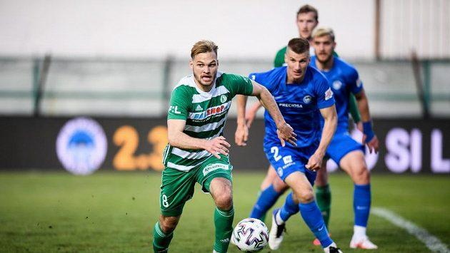 Matěj Pulkrab z Bohemians a Jakub Jugas ze Slovanu Liberec.
